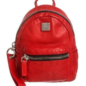 MCM Small Lush Leather 'Tumbler' Backpack